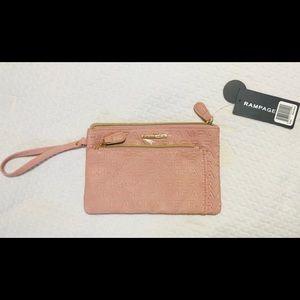New Rampage wristlet handbag
